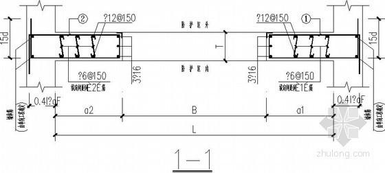 人防地下室墙体节点构造详图
