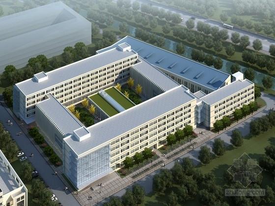 [江苏]现代风格高校教学楼设计方案文本