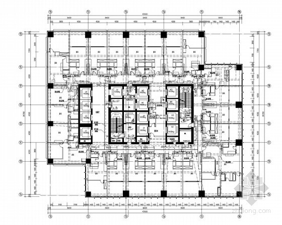 [江苏]超高层综合楼给排水施工图