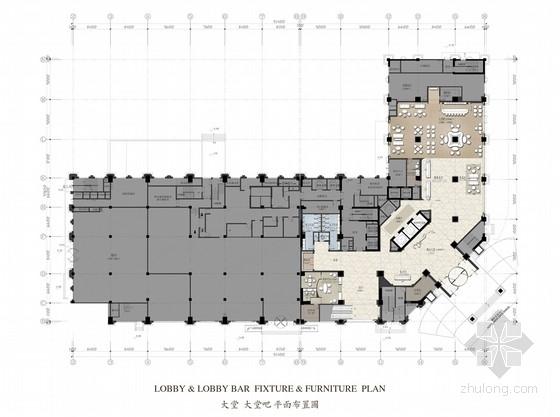 [山东]高档现代酒店室内设计概念方案