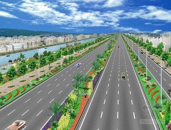 [吉林]市政道路及配套工程投资估算及经济效益分析实例(全套CAD图纸)