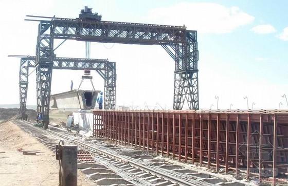 6x32m预应力混凝土简支箱梁铁路桥施工组织设计(157页 配图丰富)