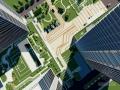 [杭州]现代休闲创意集成电路板办公区景观规划设计方案