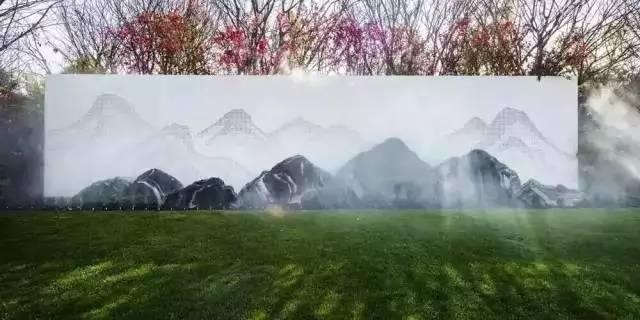 渗透在骨子里的中式情怀的景墙,干净、明亮!_5