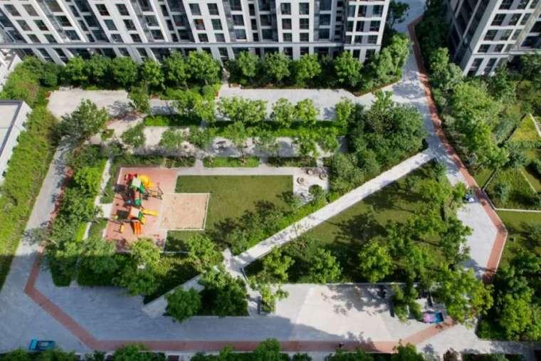 杭州良渚未来城住宅景观-2