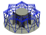 BIM模型-revit模型-成都东村绿地中心revit模型