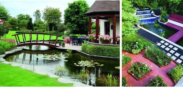 居住区与别墅庭院景观设计的差别