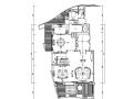 法式风格懿德轩紫云阁样板房设计施工图(附效果图)