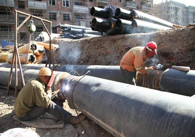 户外市政供暖蒸汽管道安装施工方案