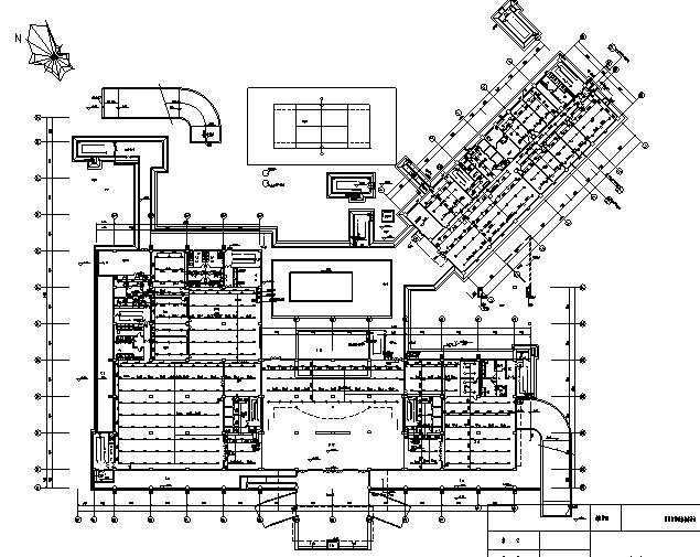 二十二层大型宾馆给排水全套施工图纸_6