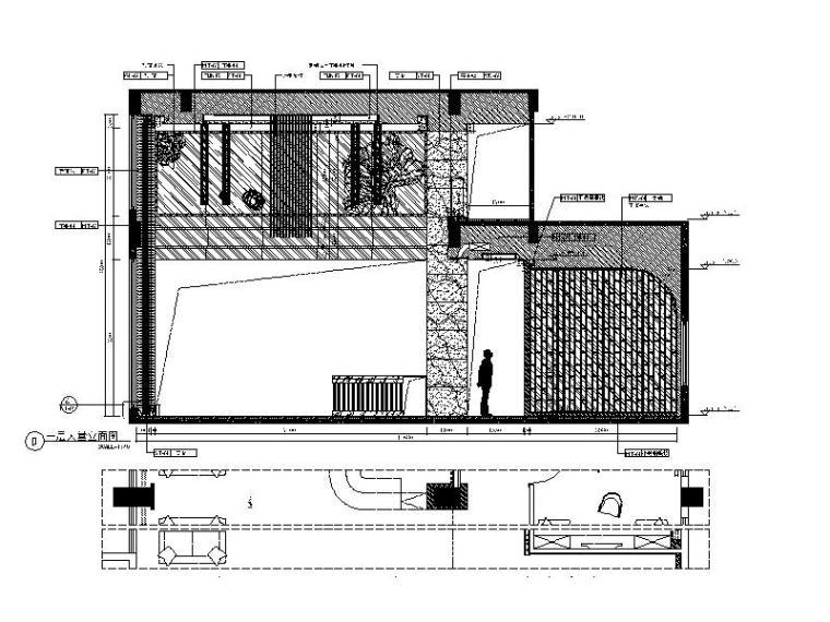 [厦门]时尚奢华高端大气售楼处室内设计施工图(含效果图)_5