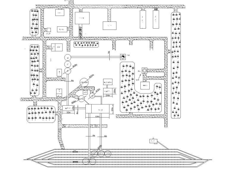 选煤厂厂区平面布置图