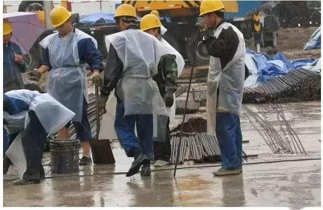 雨季施工这样做,可以排除99%的隐患