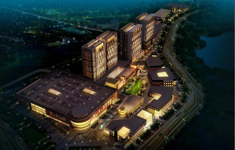 [浙江]高层现代风格开放式建筑商业建筑设计方案文本