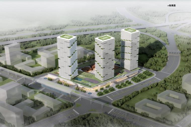 [深圳]超高层现代风格中小企业商业办公楼建筑设计方案文本