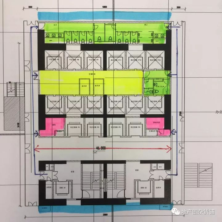 超高层写字楼核心筒布局技术与经济探索_17