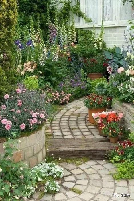 花草与石板的关系•花园小径_33