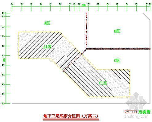 广州市某高层建筑基础底板大体积混凝土施工方案