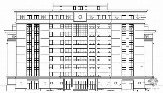 [马鞍山市]某中级人民法院综合审判庭建筑结构水暖电施工图