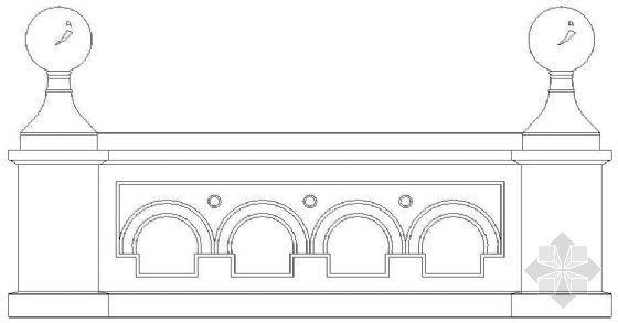 欧式栏杆详图35