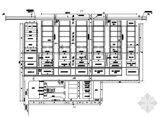 京津箱梁预制厂结构设计图纸