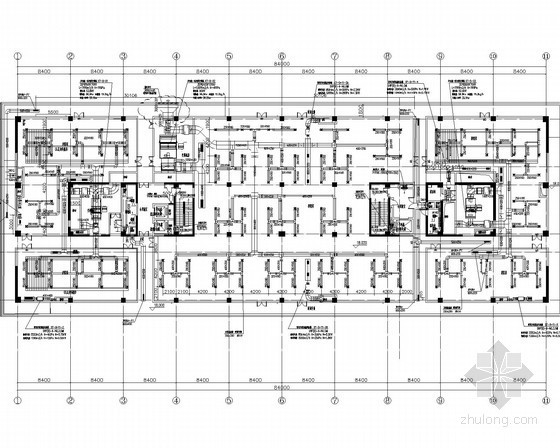 VRV热泵空调资料下载-[江苏]资料档案馆VRV多联机变冷媒及精密空调系统设计施工图(风冷恒温恒湿机组)