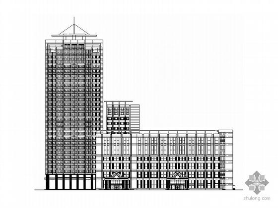 [长春锦江]某五星酒店建筑施工套图