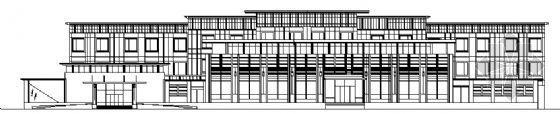 某三层旅馆建筑设计方案图
