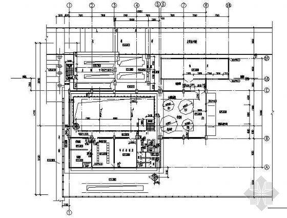 某水电站贯流机组厂房设计图