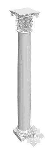欧式建筑柱资料下载-欧式建筑小配件012