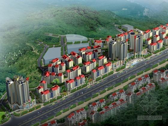 [重庆市黔江区]某地块二期修建性详细规划方案(含设计说明)