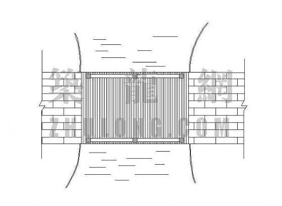 芬兰木桥竣工图-2
