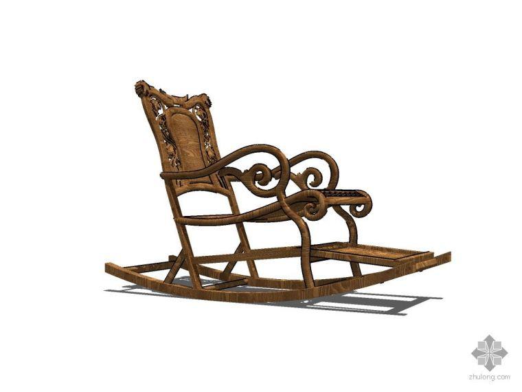 中式摇椅_2