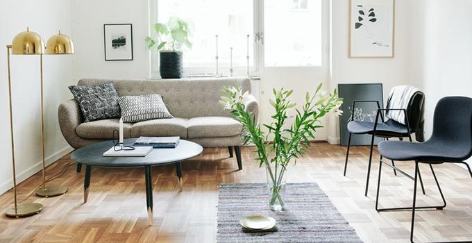 小户型客厅怎样设计才看着不小!
