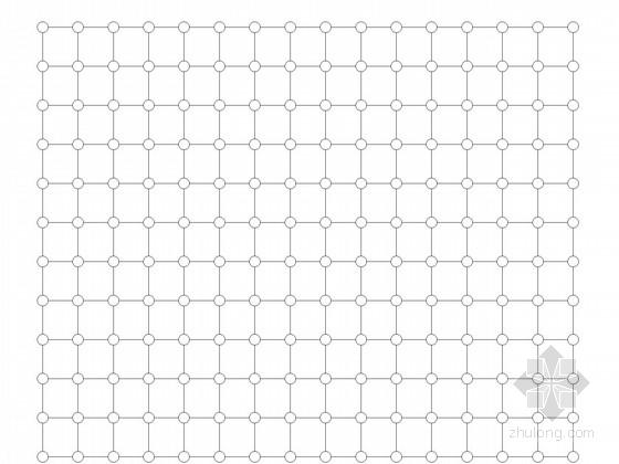 [山东]学校餐厅网架结构施工图