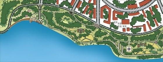 [山东]生态河道景观设计方案