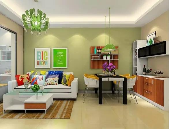 精致的小户型,五十平米小户型北欧风格公寓装修