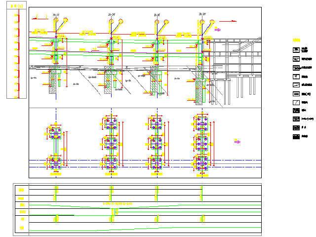 重庆轻轨现浇预应力简支箱梁高架段设计图305张CAD