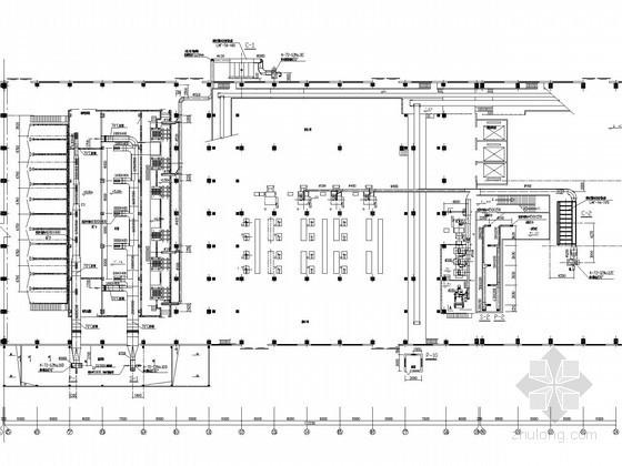 铸造加工车间通风除尘系统设计施工图