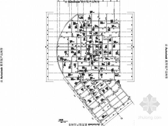 [重庆]19层剪力墙商住母子楼结构施工图(带裙楼含地下室结施)
