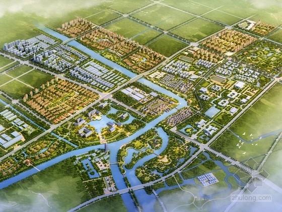 [扬州]古运河畔新城空间发展战略规划研究方案文本(上海著名规划设计院)