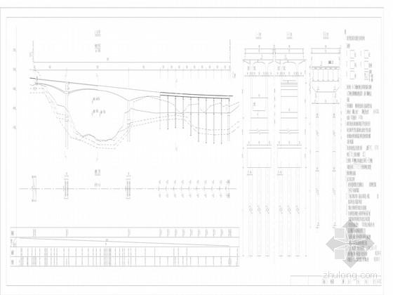 [甘肃]65+130+65m连续刚构桥梁全套设计图(40张)