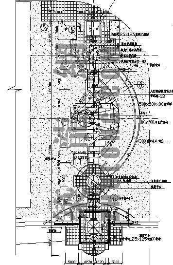 街头绿地景观设计全套施工图纸