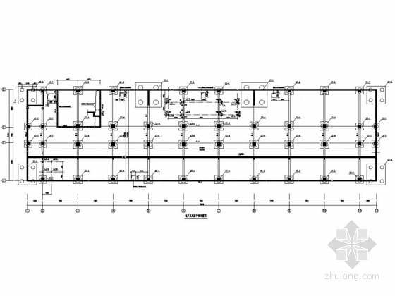[湖北]16层框剪结构医院住院部大楼结构施工图