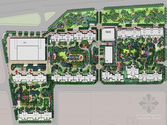 [北京]传统英式风格居住区景观规划设计方案