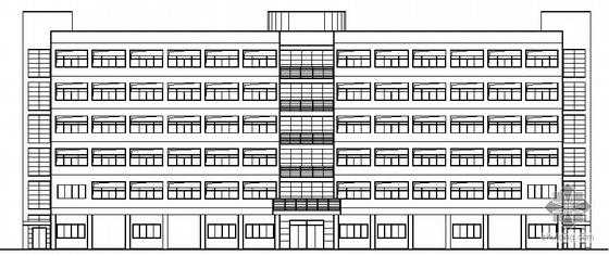 某六层员工宿舍楼建筑施工图
