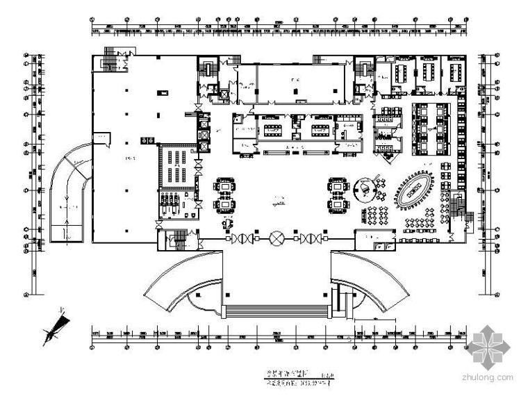 [广西]某国际酒店设计平面