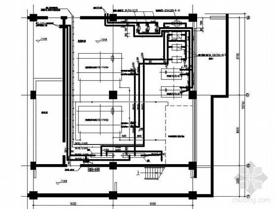 某剧场直燃机房空调图