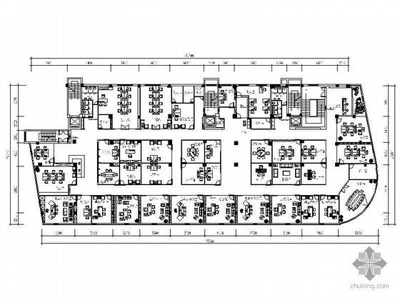 [温州]某办公空间装修图