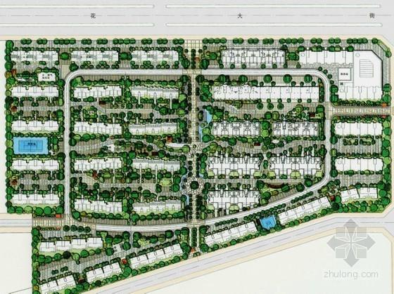 辽宁居住区景观概念定位设计
